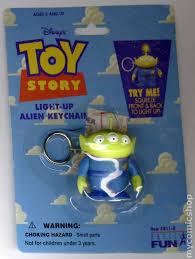 toy story light alien keychain 1996 comic books