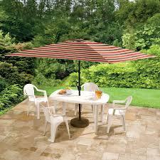 Frontgate Patio Umbrellas Rectangle Patio Umbrella 11 Foot Home Outdoor Decoration