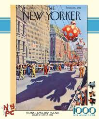 thanksgiving parade the new yorker jigsaw puzzle