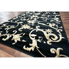 Gold Area Rugs Beige Rug With Black Border Lovely Black And Gold Area Rug For
