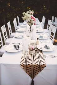 ridiculously pretty seriously creative wedding table runners