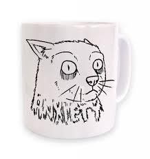 Anxiety Cat Meme - anxiety cat mug somethinggeeky