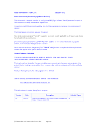 business report template example masir