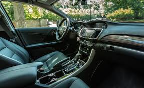 2001 Honda Accord Coupe Interior 2017 Honda Accord In Depth Model Review Car And Driver