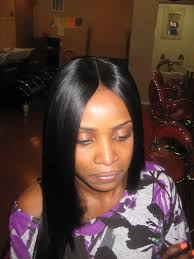 sew in weave long bob layers sew in hair styles for black women