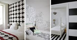 Deco Chambre Noir Blanc Awesome Deco Noir Et Blanc Chambre Ado Contemporary Lalawgroup