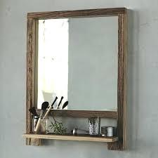 Bathroom Mirror And Shelf Shelf Mirror Bathroom Mirror With Shelf In A Small