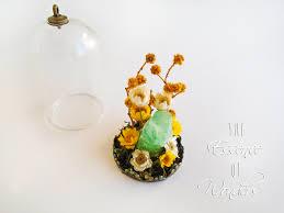 quartz necklace gemstone pendant crystal necklace terrarium