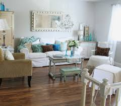 shabby chic sofa slipcover shabby chic slipcovers living room eclectic with antique blue