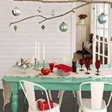 Hanging Decor From Ceiling by Small Space Holiday Decor From The Ceiling Apartment Therapy