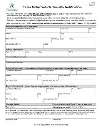 bill of sale form texas affidavit of motor vehicle gift transfer