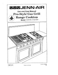 Jennaire Cooktop Jenn Air Cooktop Cvg4380p User Guide Manualsonline Com