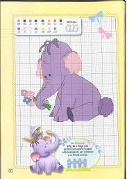 disney heffalump cross stitch pattern pooh u0027s heffalump disney