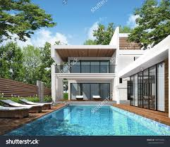 Home Exterior Decor Modern Home Exterior Stock Photos Images Pictures Shutterstock 3d