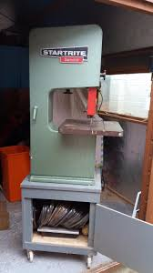 startrite bandsaw type 12s1 bandit with spare blades in business