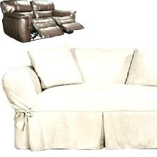 Reclining Sofa Slipcover Dual Reclining Sofa Slipcover Slipcovers For And Loveseat Heavy