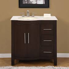 amazon com silkroad exclusive hyp 0912 cm uwc 36 l single left amazon com silkroad exclusive hyp 0912 cm uwc 36 l single left sink bathroom vanity with furniture cabinet 36 inch home kitchen