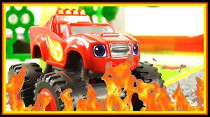 monster truck crash videos youtube blaze toy trucks fire crash blaze monster machines racing track
