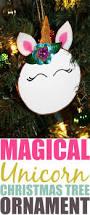 diy magical unicorn christmas tree ornament extreme couponing mom