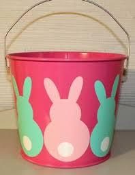 easter pail sky blue 10 quart easter basket by embellishboutiquellc