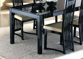 black glass kitchen table why a black glass dining table is necessary home decor
