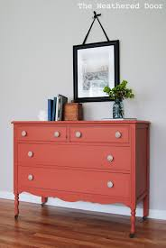a springtime salmon dresser the weathered door