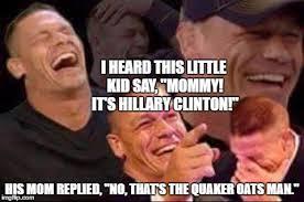 Quaker Memes - john cena laughing latest memes imgflip