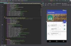 android text editor build a ui with layout editor android studio