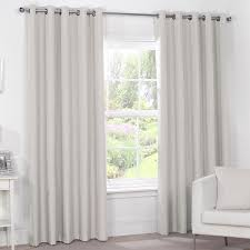 Thermal Curtain Liner Eyelet by Luna Natural Stone Luxury Thermal Blackout Eyelet Curtains Pair