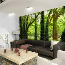 Wallpapers Home Decor Beautiful Woods Wallpaper Custom Wall Mural Nature Landscape Photo