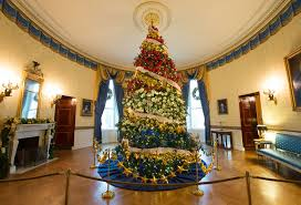 Home Christmas Tree Decorations Inside The 2015 White House Christmas Decorations Created By