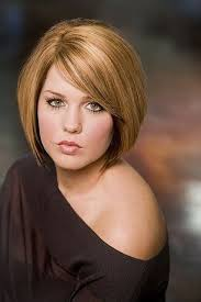 bob with bangs hairstyles for overweight women round full face women hairstyles for short hair straight bob