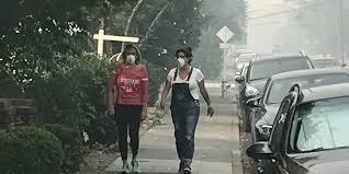 crushed by escalator california fire blazes make san francisco air quality as bad as