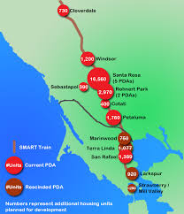 Smart Bus Route Map smart train growth set to overwhelm highway 101 planning for reality