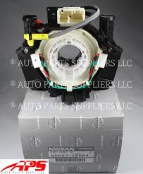 nissan genuine accessories canada genuine nissan infiniti clock spring switch oem b5567 cb66a w o