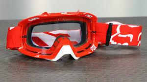 fox air space mx goggle fox racing air defence goggles motorcycle superstore youtube