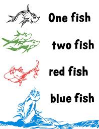 download one fish two fish red fish blue fish coloring pages