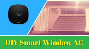 diy smart window ac homekit u0026 amazon alexa compatible youtube