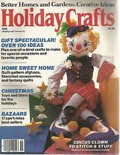 Better Homes And Gardens Christmas Crafts - better homes u0026 gardens 1980 1999 magazine back issues ebay