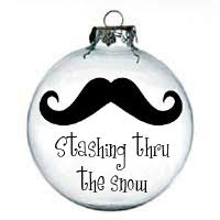 our mustache ornament is the stuffer this