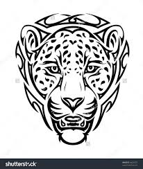 images of tribal jaguar tattoo design sc