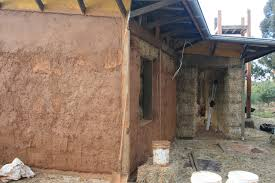 sustainable straw bale house construction farm real estate
