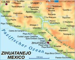 zihuatanejo map map of zihuatanejo mexico map in the atlas of the