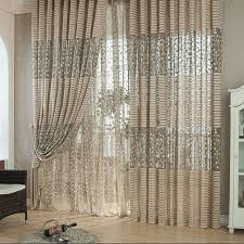 hall new traditional curtains design with window valances and