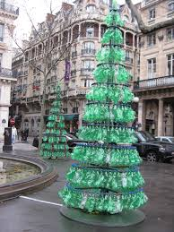 christmas tree recycling posted in paris