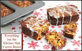 kitchen simmer carrot cake bread