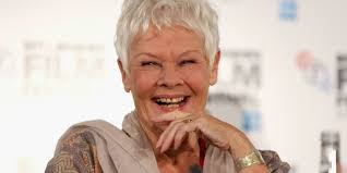 judi dench gets her first tattoo at 81 years old photos