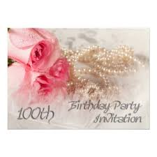 21 best 100th birthday invitation templates images on pinterest