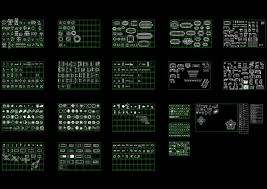 home plane integrated cad block set autocad drawing autocad dwg