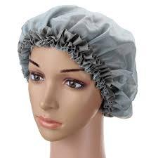 shower bathing elastic cap chinese goods catalog chinaprices net buy women silk waterproof shower cap long hair bathing caps sleeping night care hats